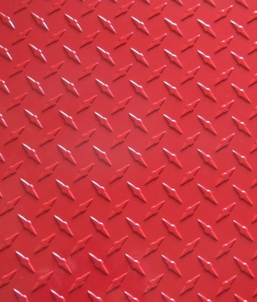 red diamond plate from The Metal Link