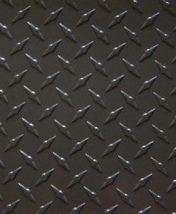 Gunmetal gray diamond plate from The Metal Link