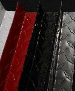 The Metal Link Diamond Plate Inside Corners & White Diamond Plate - The Metal Link