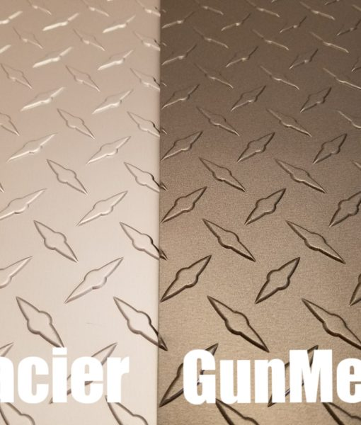 Gray diamond plate from CutsMetal